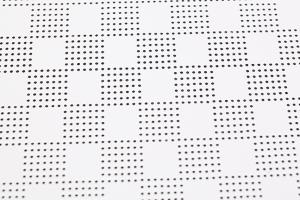 小方格冲孔铝扣板