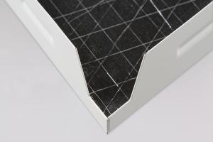 复合方板天花背贴吸音棉细节图