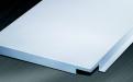 白色平面勾搭铝板正面图