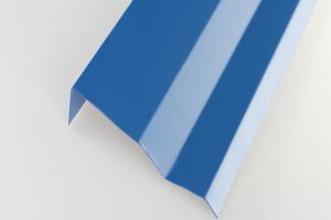 7字型铝挂片截面图