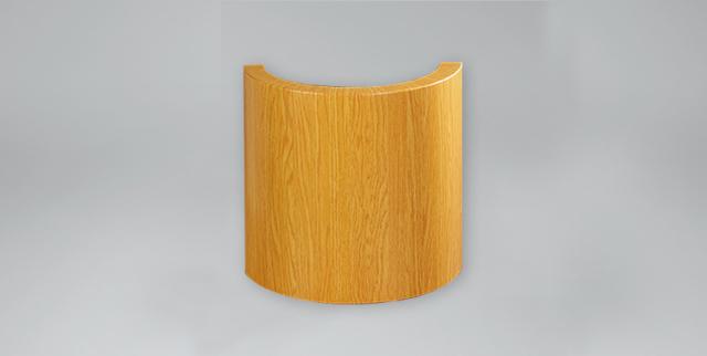 木纹弧形铝单板
