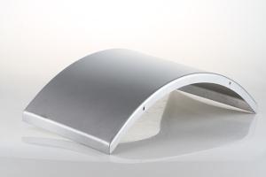 弧形鋁單板側面圖