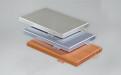 银灰、灰色、木纹色铝单板
