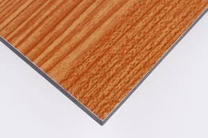 木纹铝蜂窝板面层木纹饰面