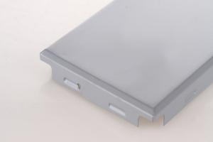 组合方格铝扣板折边
