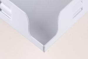 组合方格铝扣板角位细节图