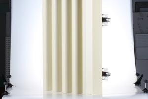 梯形铝方通立式安装