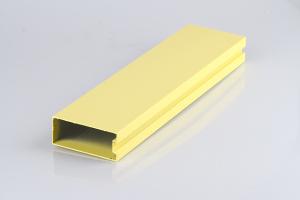 黄色型材铝方通