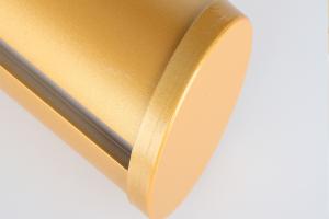 金色铝圆管