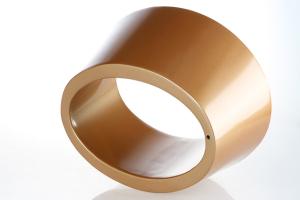金色环形造型铝单板