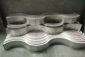 多拱波浪形铝单板坯料