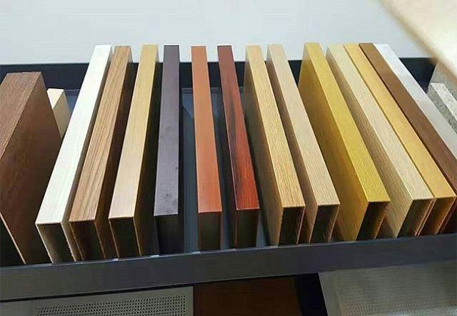 木纹铝方通颜色