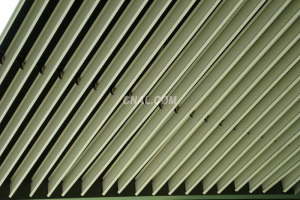 S型铝挂片吊顶