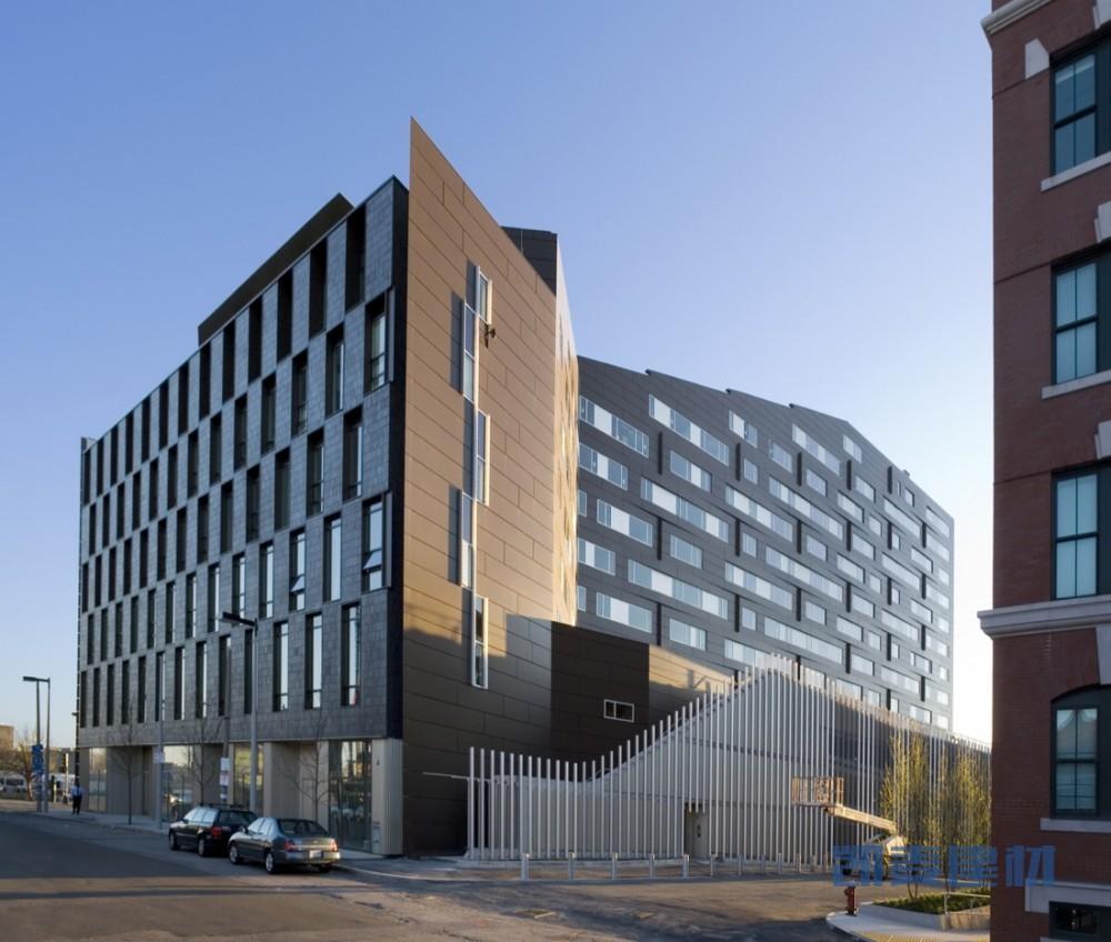 MacAllen大厦公寓外墙铝单板
