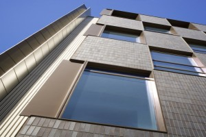 MacAllen大厦公寓幕墙转角铝单板
