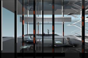 上海世博会香港馆--现代风格玻璃质感+铝合金结构