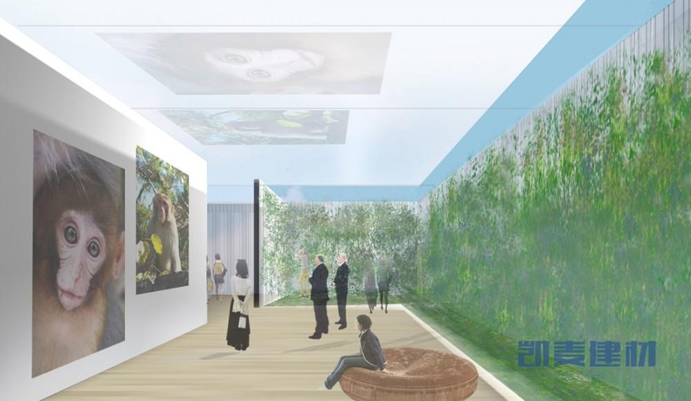 上海世博会香港馆--面向智能化一体装饰