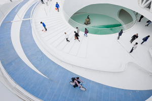 上海世博会丹麦馆--全屋金属结构一体化