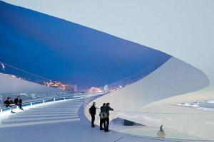 上海世博会丹麦馆--旋转楼梯海天一色