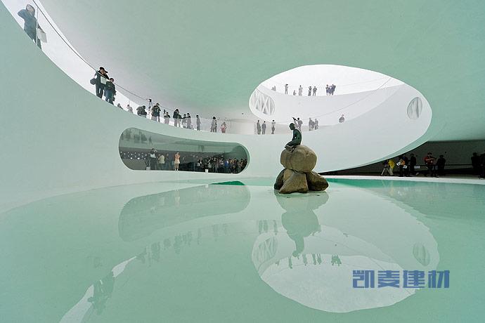 上海世博会丹麦馆--镜面地板