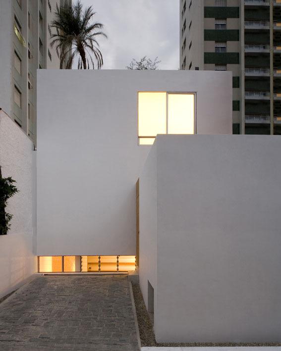 巴西圣保罗立方体住宅外墙