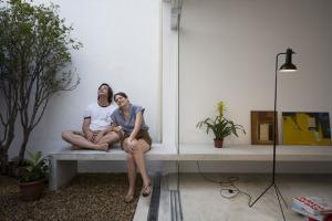 巴西圣保罗立方体住宅--休闲套间