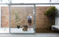 巴西圣保罗立方体住宅--后院