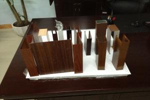 各种规格的木纹铝方通