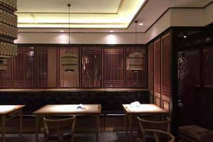 中式茶馆铝合金花窗