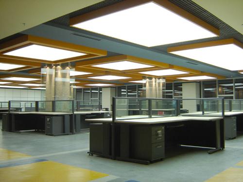 办公室组合LED灯槽铝板