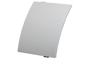 白色弧形外墙铝单板
