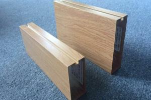 凹槽木纹天花型材铝方通