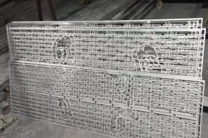 超小边框铝窗花