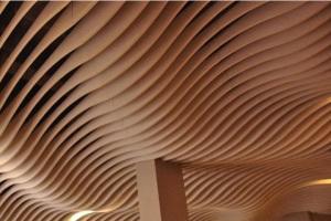 大厅波浪造型铝方通