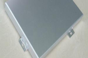 银灰色常规平板铝单板