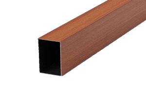 木纹铝矩管
