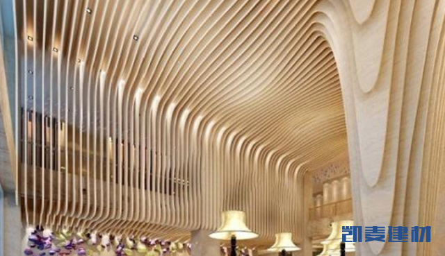 仿木纹_图书馆_造型墙面铝板,包柱铝单板,异形吊顶铝单板-产品分类