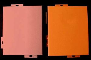 橙色铝单板