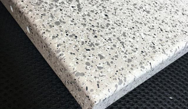 石纹喷点铝单板