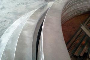 型材拉弯铝方通