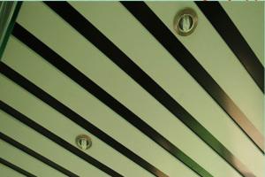 U槽铝方通间隔安装