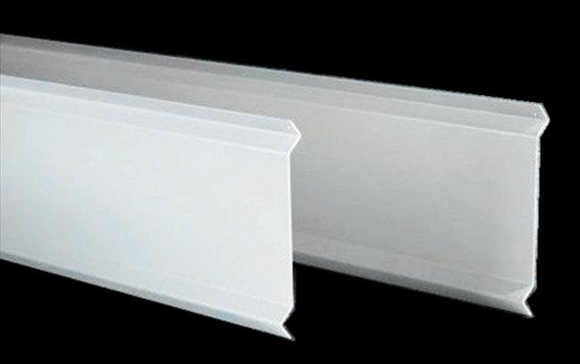 白色S型铝挂片