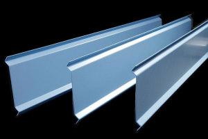 天蓝色S型铝挂片
