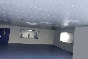 室内体育馆铝扣板吊顶