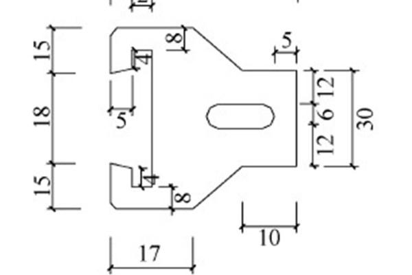 连接件构造示意