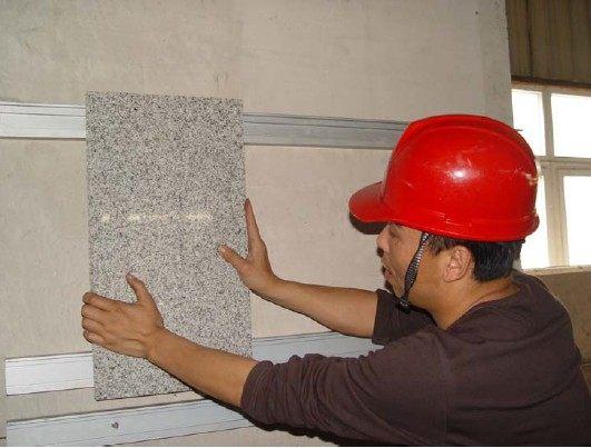 石材蜂窝板的安装