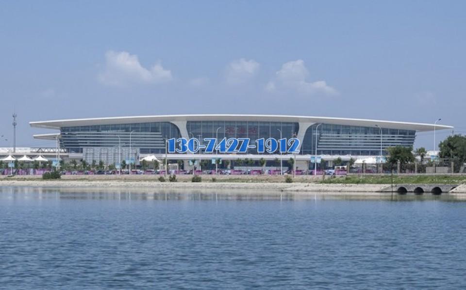 天津滨海火车站远景