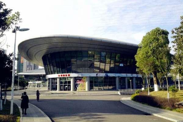 福建沙县体育公园双曲铝单板