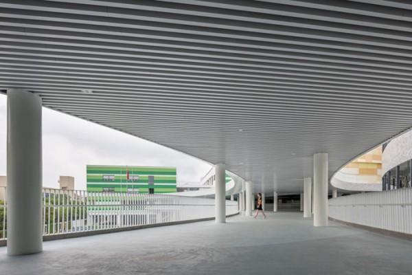 走廊铝方通吊顶