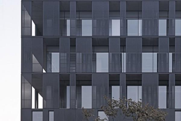 铝单板遮阳幕墙